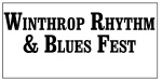 Winthrop Rythm and Blues Fest logo