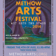 POSTER Methow Arts Festival 2014