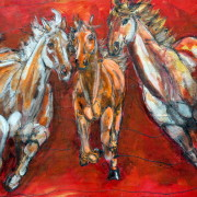Now It's A Horse Race, by Ginger Reddington
