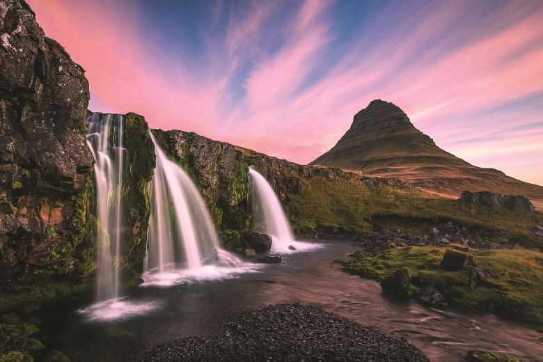 WG.Kirkjufellsfoss by Dennis Kirkland