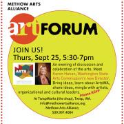 ART Forum, Thurs, Sept 25