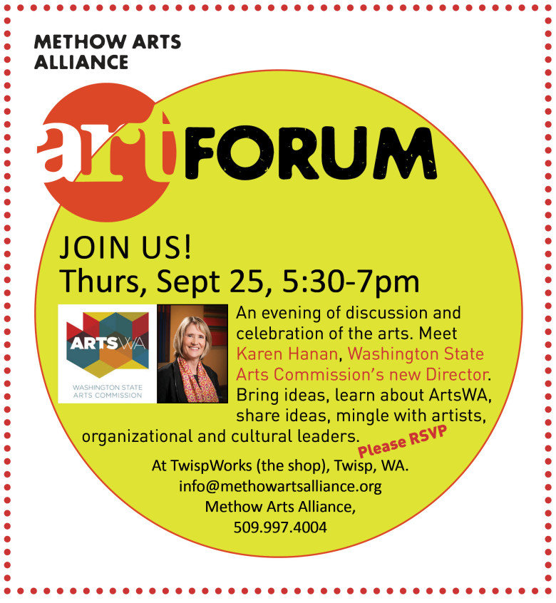 ART Forum, Thurs, Sept 25