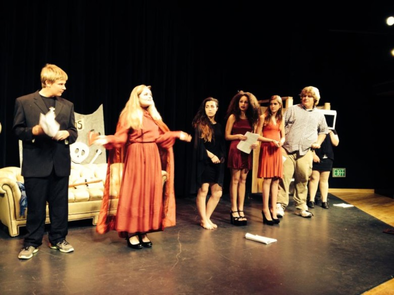 Liberty Bell Drama Company performs