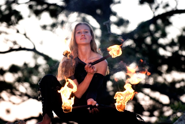 Christina Stout Fire Dance