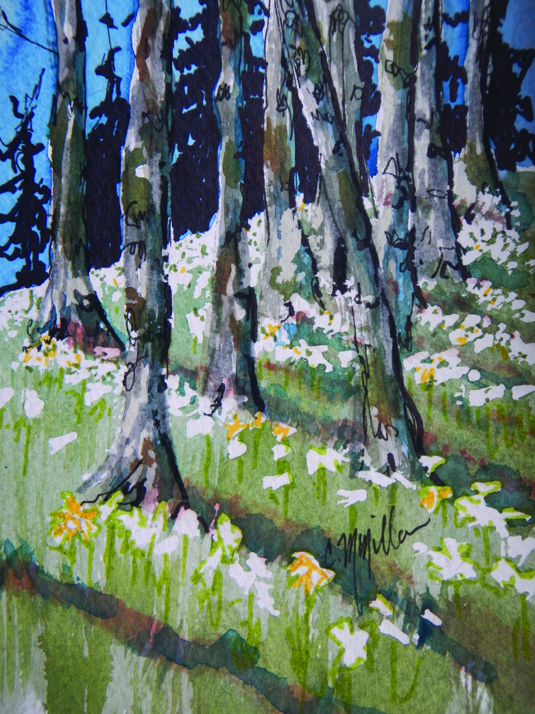 WG.Spring Tree Roots by Carol McMillan