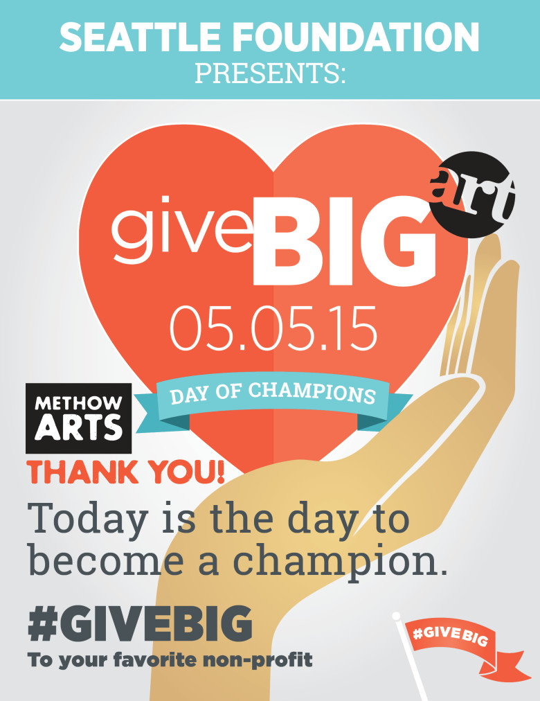 Methow Arts Alliance. Give BIG to ART today.