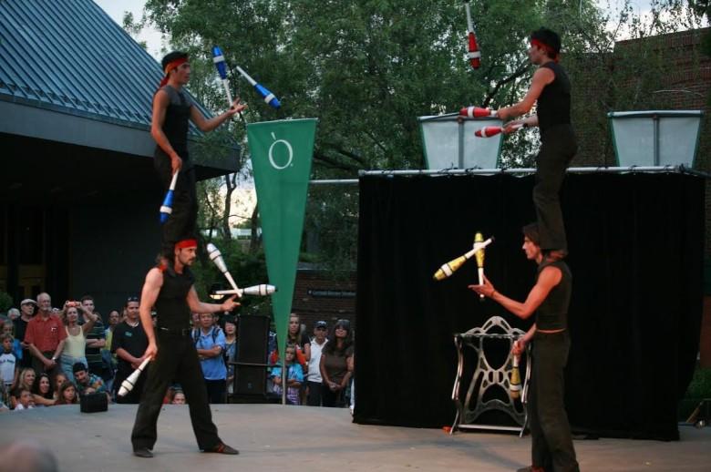 nanda juggling
