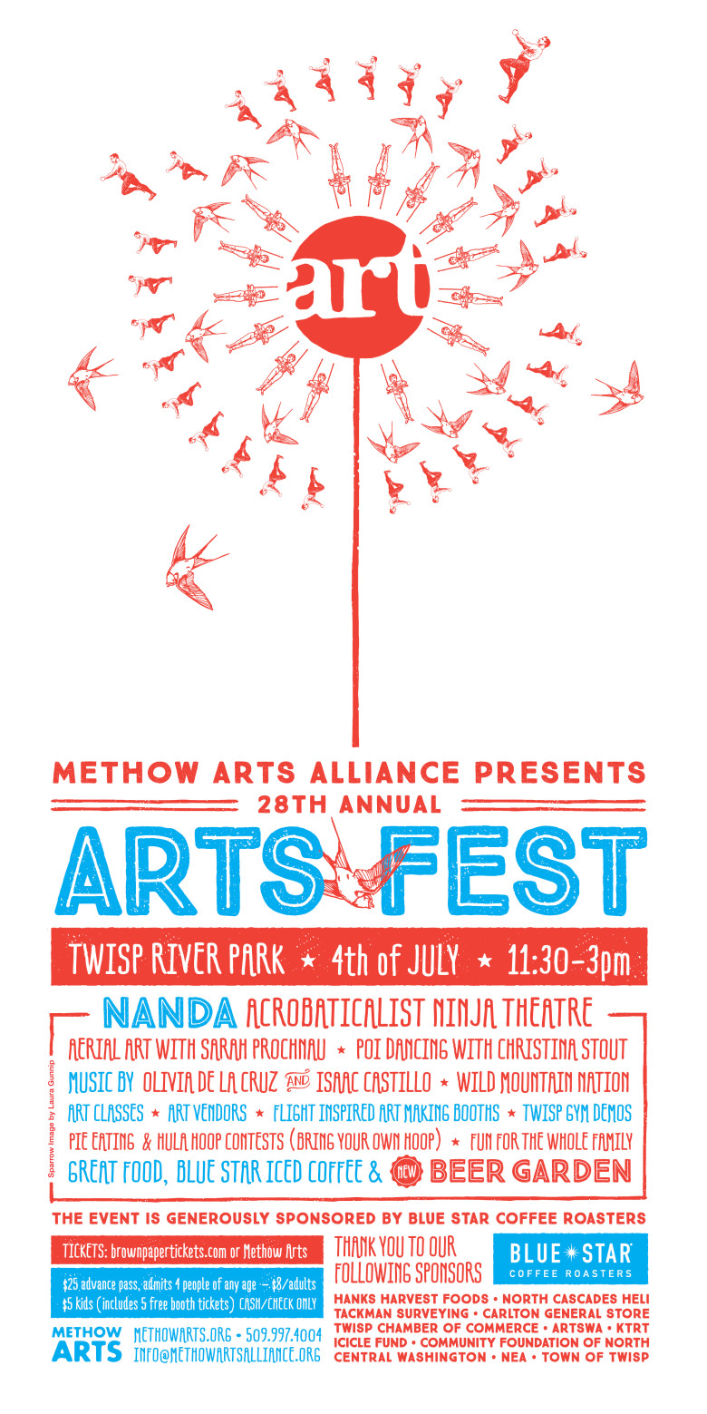 Spend your 4th of July with Methow Arts!