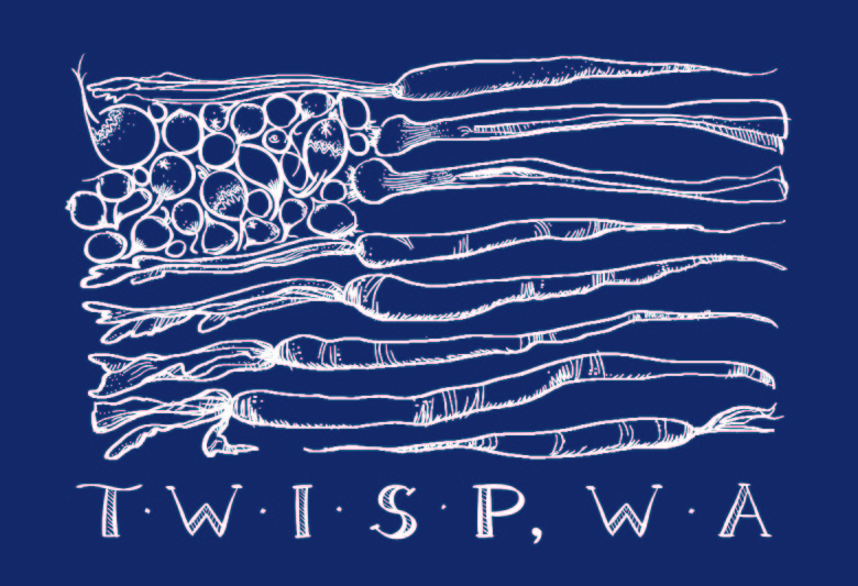 Twisp Tshirt Art by Jennifer McGill
