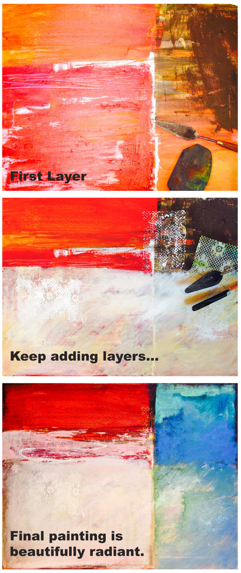 Contemporary Acrylics: Paint Luminescent Layers