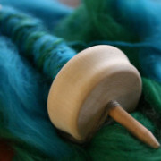 Spinning and Weaving at Twisted Knitters