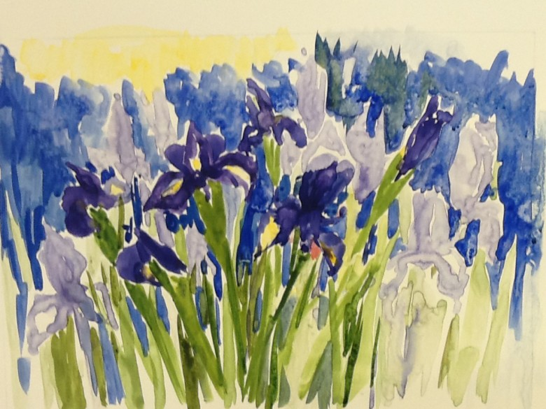 WG.Iris by Patty Yates