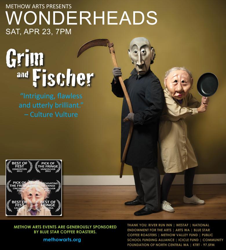 Wonderheads, SAT, APR 23, 7PM online