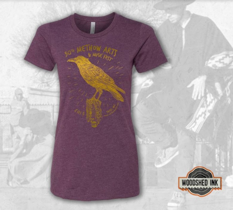 Tshirt in Plum