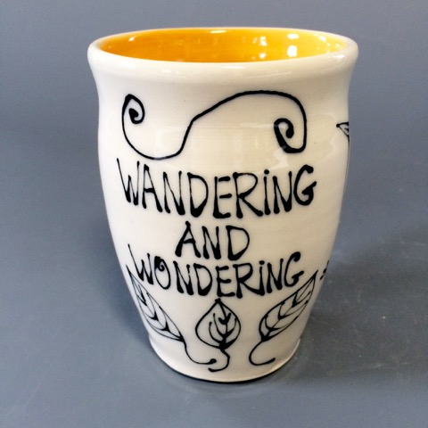 WG.Ceramic Cup by Tamera Abate