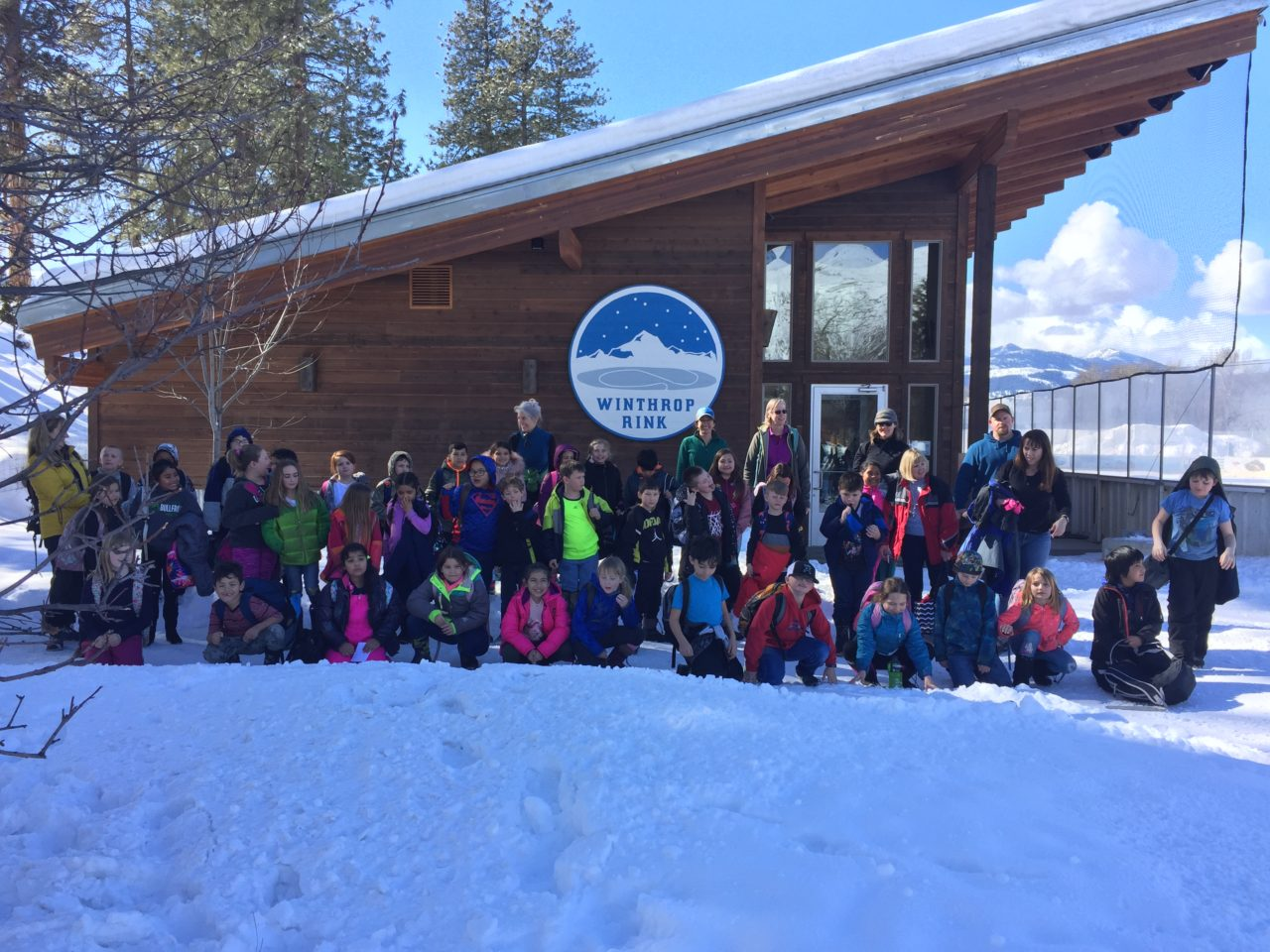 Outdoor Classroom Combines Art Literacy And Winter Recreation For